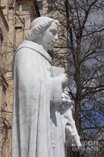 Photograph - Statue Of Saint Anthony In San Antonio by Carol Groenen