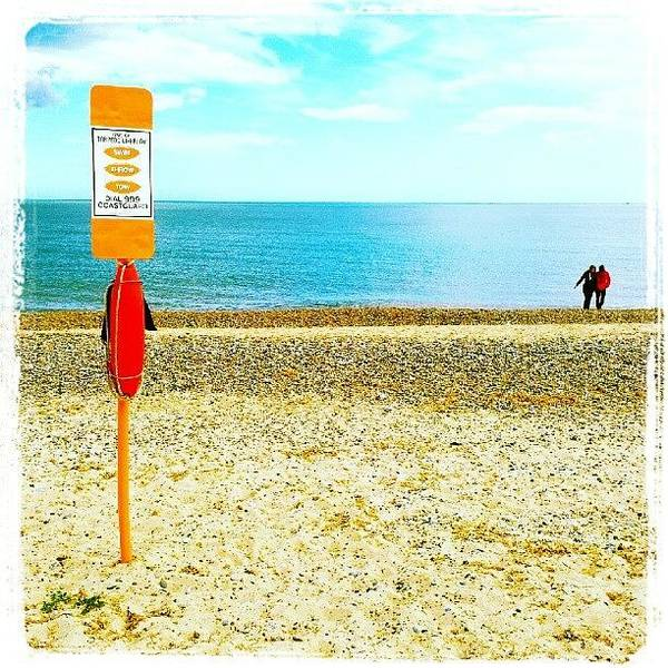 Norfolk Photograph - Stay Safe On The Beach #beach #sand by Invisible Man