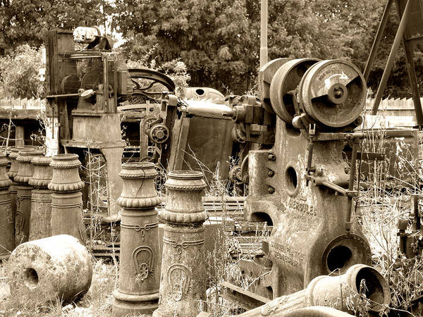 Photograph - Steam Junkyard by Roberto Alamino