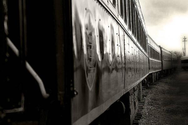 Photograph - Steam Railroading 1 by Scott Hovind
