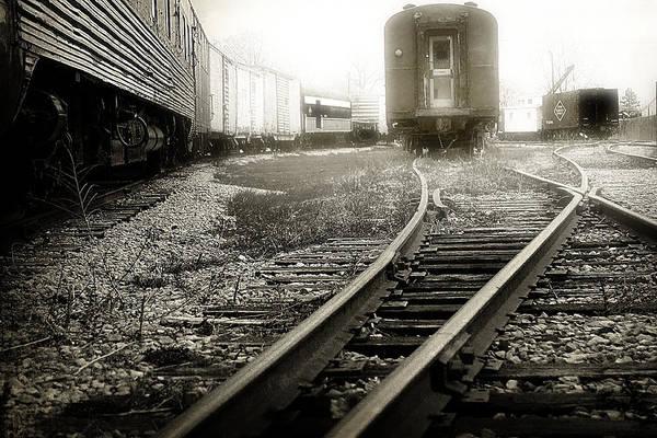 Photograph - Steam Railroading 3 by Scott Hovind