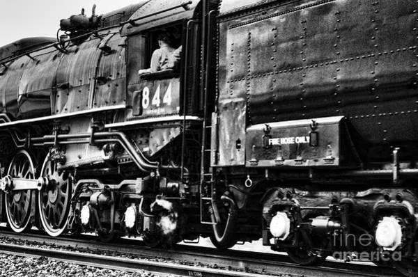 Photograph - Steam Train No 844 - II by Donna Greene