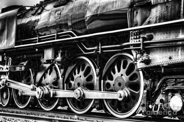 Photograph - Steam Train No 844 - IIi by Donna Greene