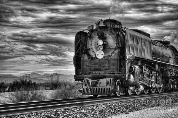 Steam Train No 844 - Iv Art Print