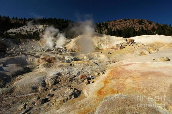 Photograph - Steaming Organge Crust by Adam Jewell