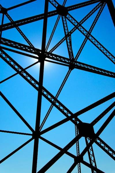 Photograph - Steampunk Sky Web by Trever Miller