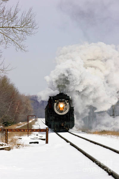 Wall Art - Photograph - Steamtown Excursion Train by Michael P Gadomski and Photo Researchers