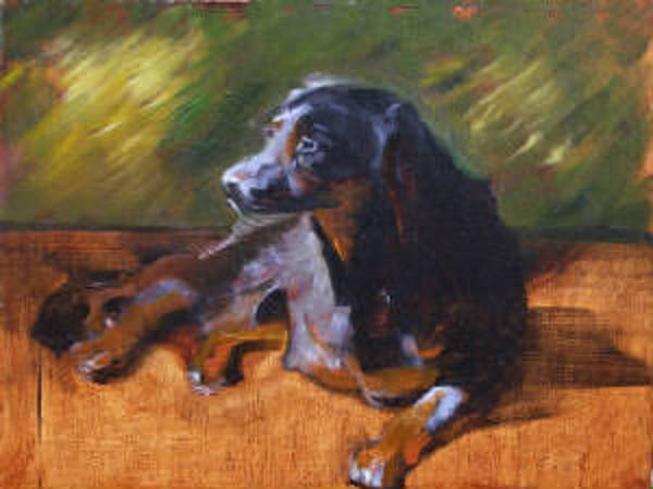 Painting - Stella by Suzanne Cerny