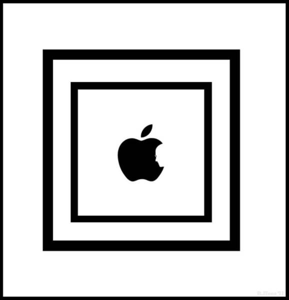 The Mac Wall Art - Photograph - Steve Jobs Apple by Rob Hans