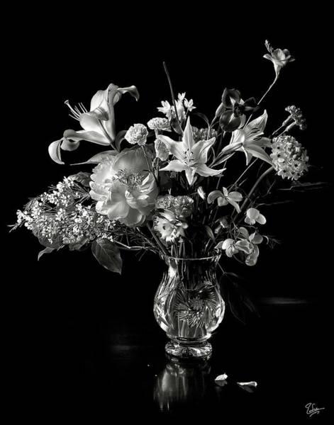 Still Life In Black And White Art Print