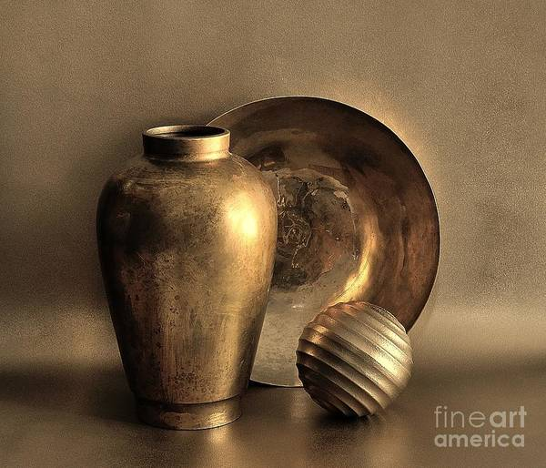Photograph - Still Life In Gold by Mark Fuller