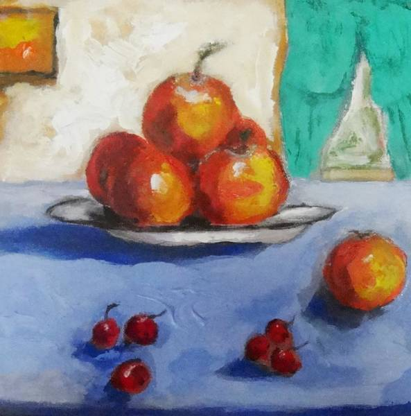 Painting - Still Life Oranges by Dilip Sheth