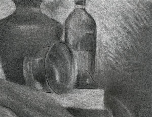 Drawing - Still Life Study by David Kleinsasser