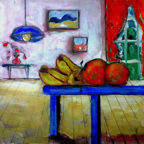 Painting - Still Life With Bananas by Dilip Sheth