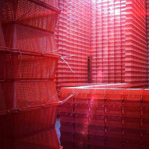 Transport Photograph - Stimulus Package..#red #crates by A Rey
