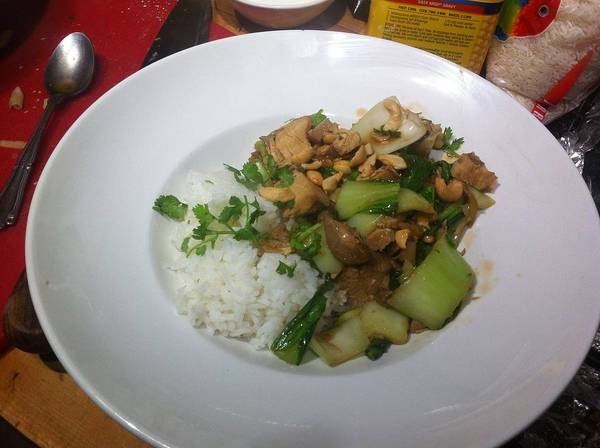 Feed Me Photograph - Stir It Fry It by Paul Washington