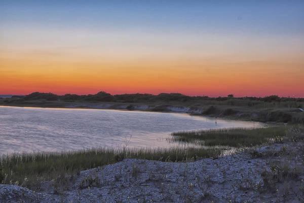 Photograph - Stone Harbor Sunset II by Tom Singleton