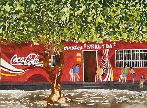Soda Pop Painting - Stone Island by Kimberlee Weisker