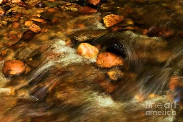 Photograph - Stone Mountain River Rocks by Adam Jewell