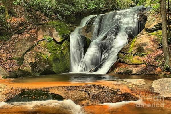 Photograph - Stone Mountain Window Falls by Adam Jewell
