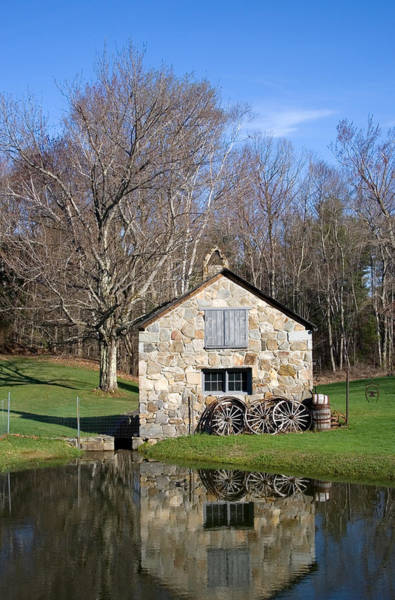 Photograph - Stone Shed Spring  by Larry Landolfi