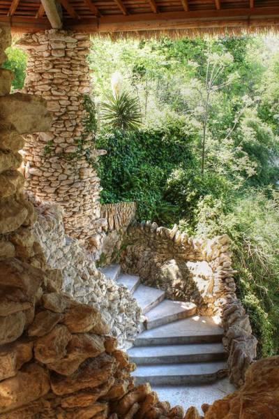 Photograph - Stone Steps by Sarah Broadmeadow-Thomas