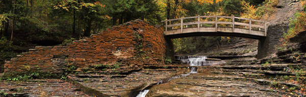 Wall Art - Photograph - Stone Walls And Wooden Bridges by Joshua House