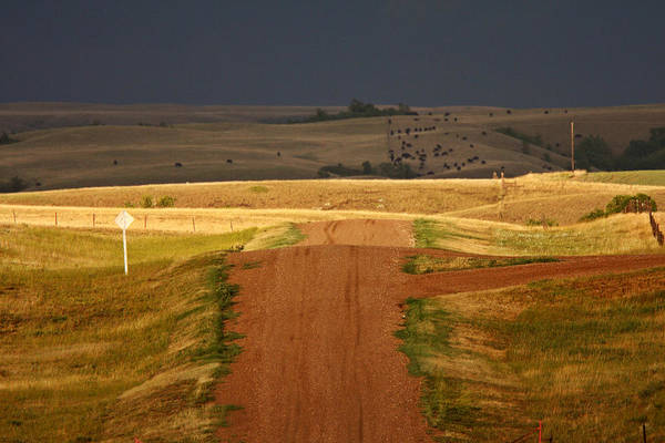 Prairie View Digital Art - Storm Clouds In Saskatchewan by Mark Duffy