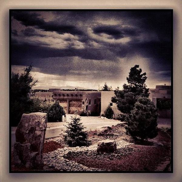 Fineart Wall Art - Photograph - Storm Clouds Over My House by Paul Cutright