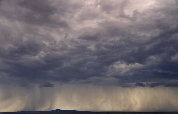 Photograph - Storm Over The Mesa by Ron Cline