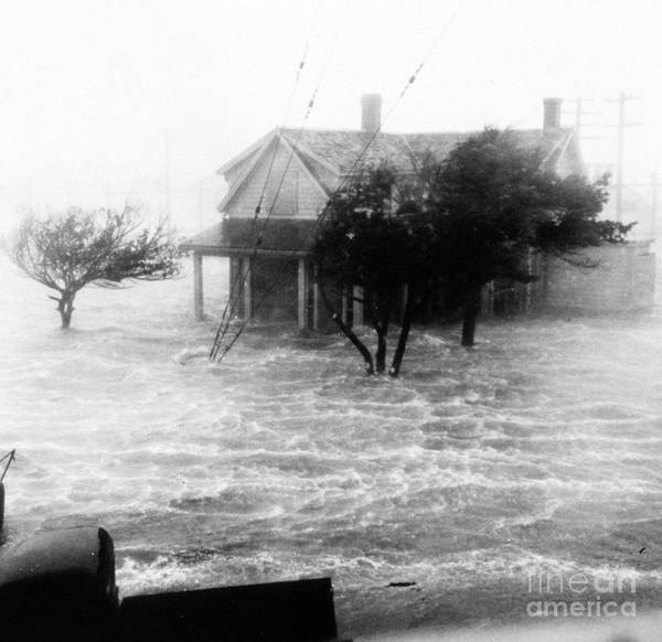 Wall Art - Photograph - Storm Surge During Hurricane by Science Source