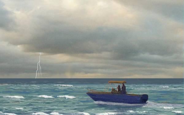 Digital Art - Storm's Coming by Tony Rodriguez