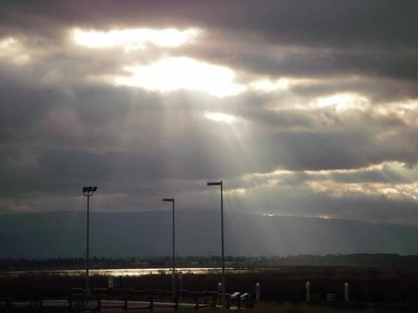 Alviso Photograph - Storms Over Alviso by Edward Wolverton