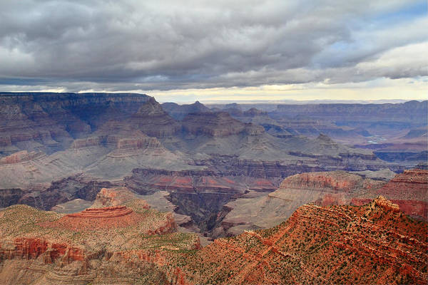 Photograph - Stormy Grand Canyon by Pierre Leclerc Photography