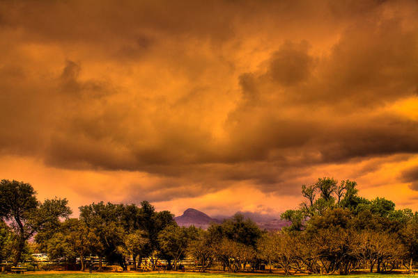 Photograph - Stormy Weather At Red Rocks Canyon by David Patterson
