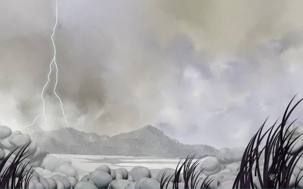 Digital Art - Stormy Weather by Tony Rodriguez