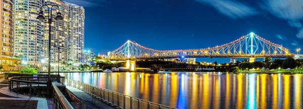 Photograph - Story Bridge by Mark Lucey
