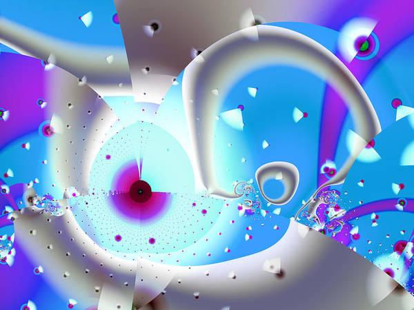 Digital Art - Strange Attraction by Frederic Durville