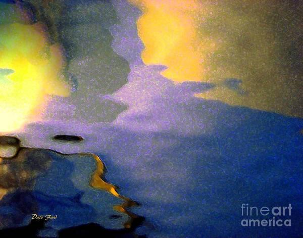 Digital Art - Strange Landscape 2 by Dale   Ford