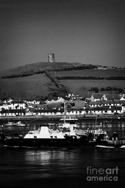 Wall Art - Photograph - Strangford Portaferry Ferry Crossing Strangford Lough County Down Northern Ireland by Joe Fox