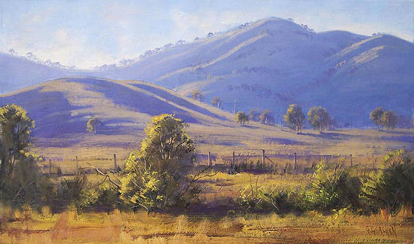 Victoria Wall Art - Painting - Strath Creek Victoria by Graham Gercken
