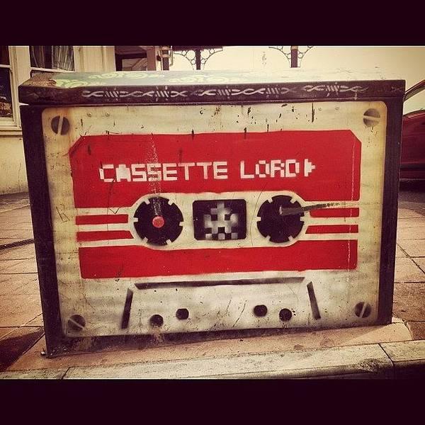 Handmade Wall Art - Photograph - Street Cassette by Antony Crafford