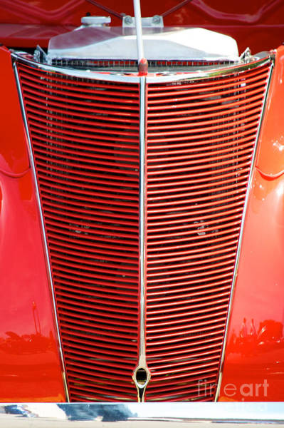 Photograph - Street Rod Grill by Mark Dodd