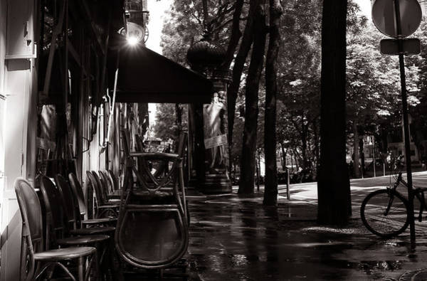Photograph - Streets Of Paris 1 by Andrew Fare