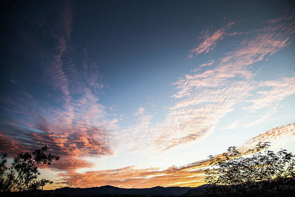 Photograph - Striated Sunrise by Peter Dyke