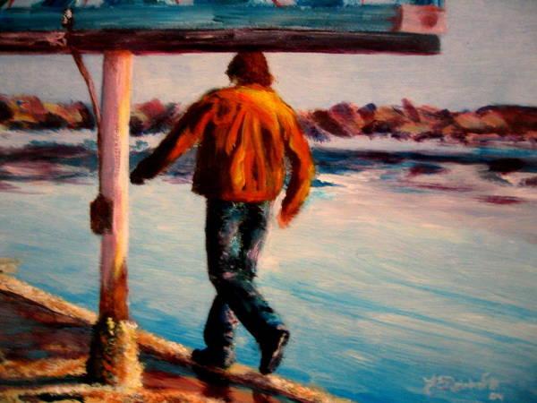 Painting - Stride by Jason Reinhardt