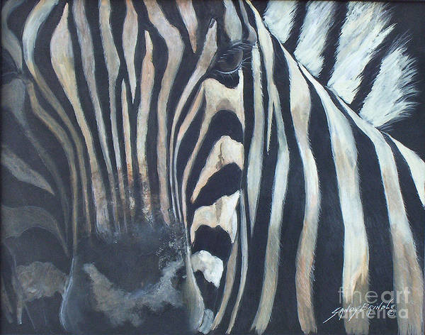 Painting - Stripes...sold  by Sandy Brindle