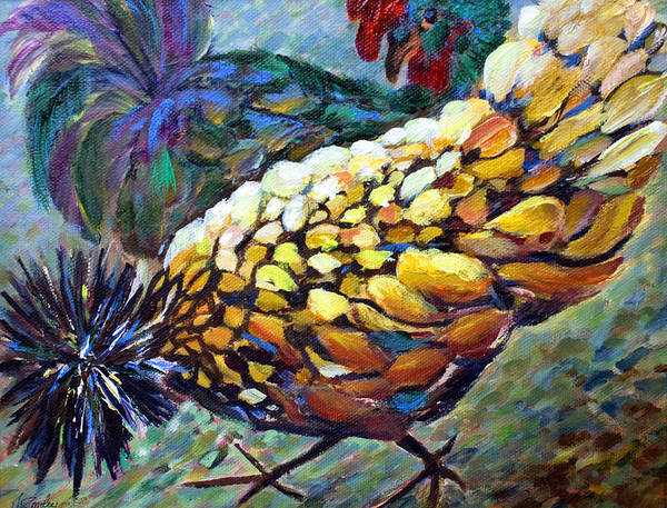 Painting - Strutting by Joanne Smoley