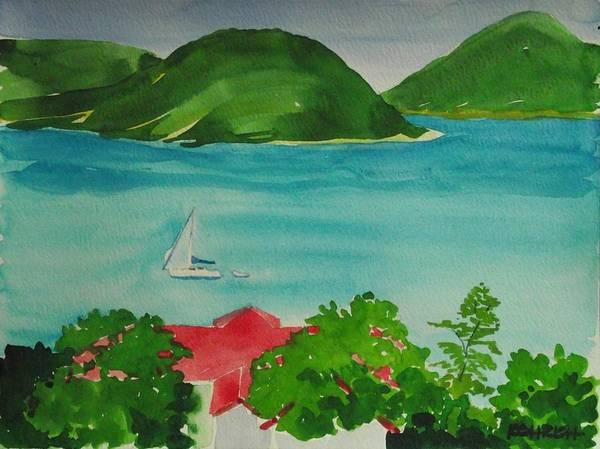 Us Virgin Islands Painting - St.thomas Harbor by Robert Rohrich
