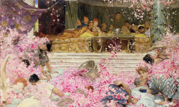 Painting - Study For The Roses Of Heliogabulus by Sir Lawrence Alma-Tadema